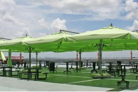 Poker Offset Umbrellas Miami Stadium Dolphins