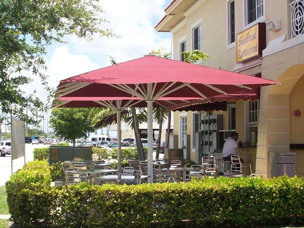 Prestige Market Umbrella for Restaurant